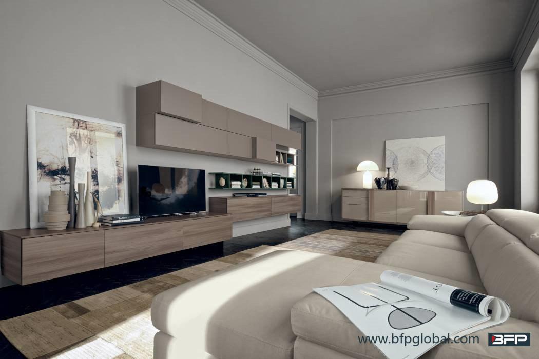 Modern Wood TV Cabinet Living Room Furniture