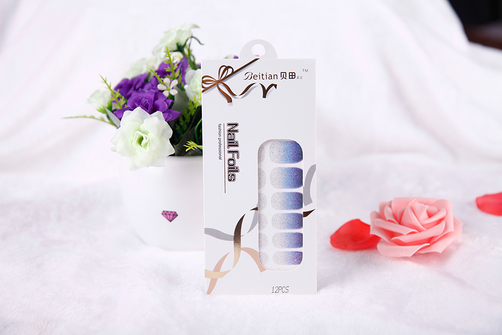 fashion Temporary Water Transfer Nail Sticker Art Nail Sticker