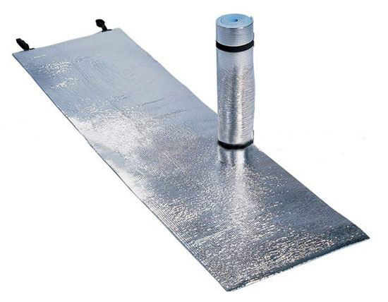Aluminum Foiled Sleeping Pad Camping Pad Under Sleeping Quilt