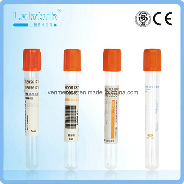 Clot Activator Vacuum Blood Collection Tube