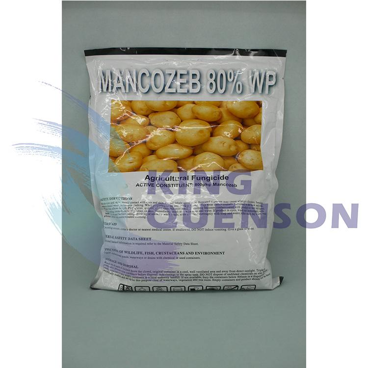 King Quenson Widely Use Fungicide Mancozeb 90% Tc (75% WDG, 30% SC, 80% WP)