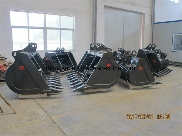 China Excellent All Kinds Excavator Attachments, Excavator Skeleton Bucket