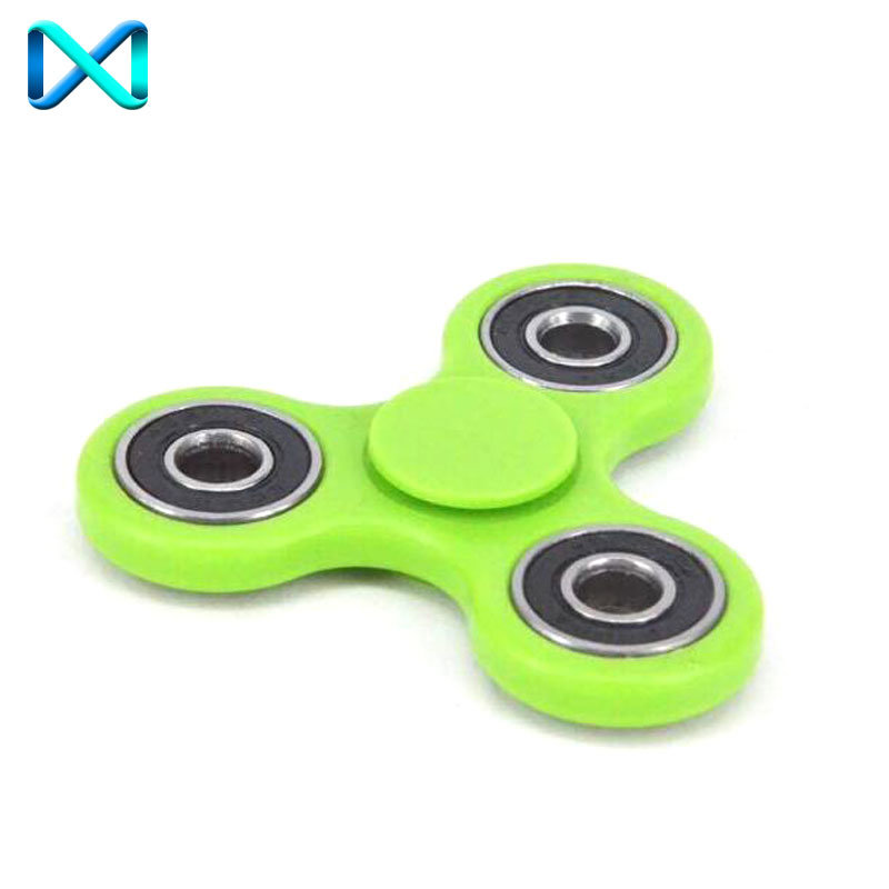 Luminous Tri Fidget Ceramic Ball Desk Toy EDC Stocking Stuffer Hand Spinner