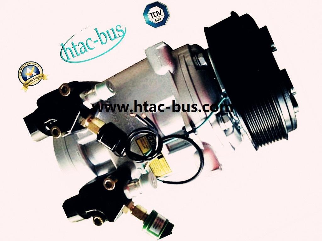 Hot Sales Bus A/C Compressor with 12V 8pk Clutch Htac-31 (12V8PK156 bolt)