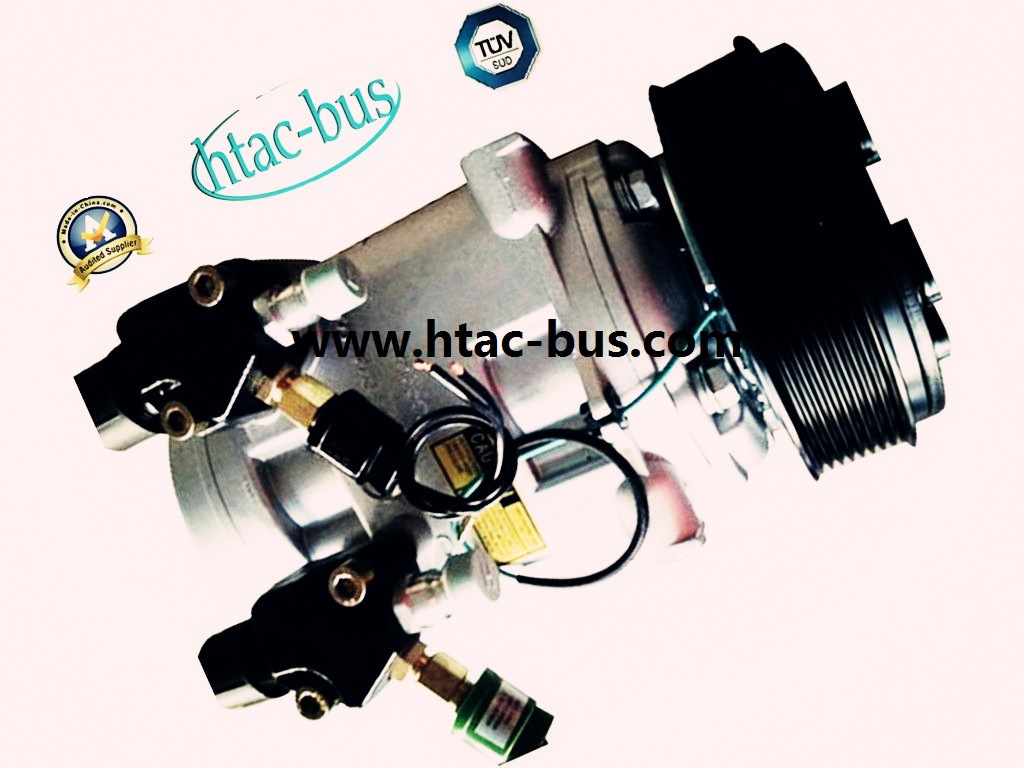 Hot Sales Bus Air Conditioner Compressor with 12V 8pk Clutch