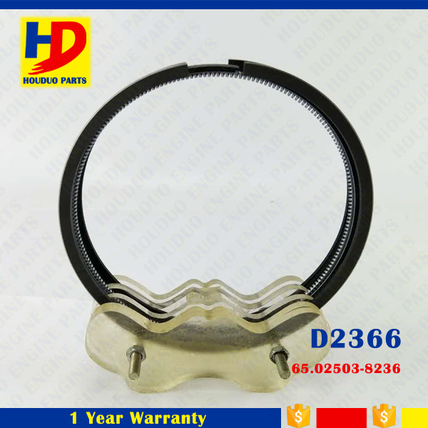 D2366 Piston Ring Set for Daewoo Doosan Diesel Engine (65.02503-8236)