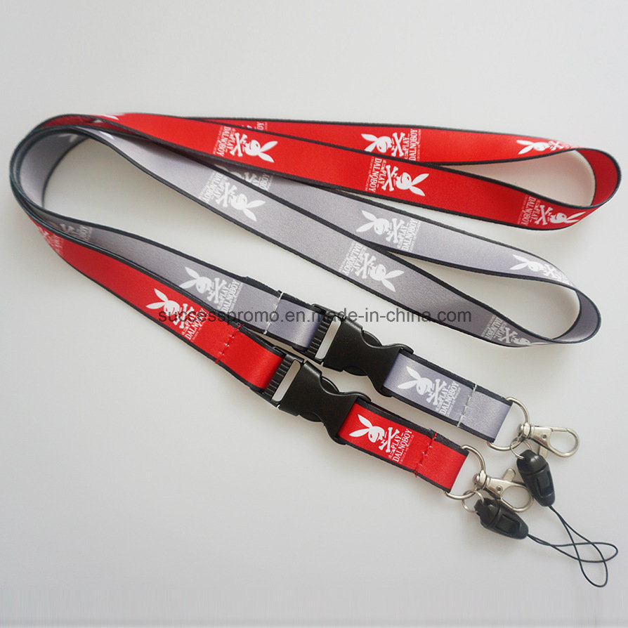 Custom Printed Polyester Mobile Lanyards as Promotion Gift
