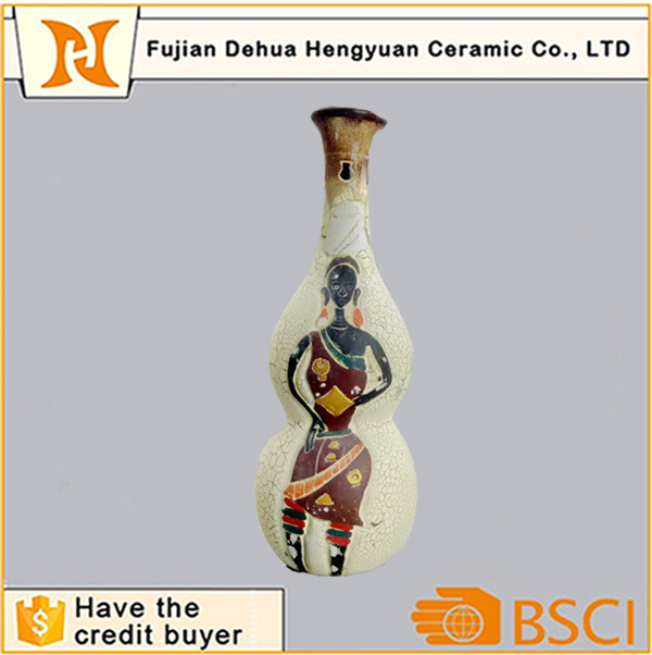 Hand Paint Porcelain Antique Decoration Vase