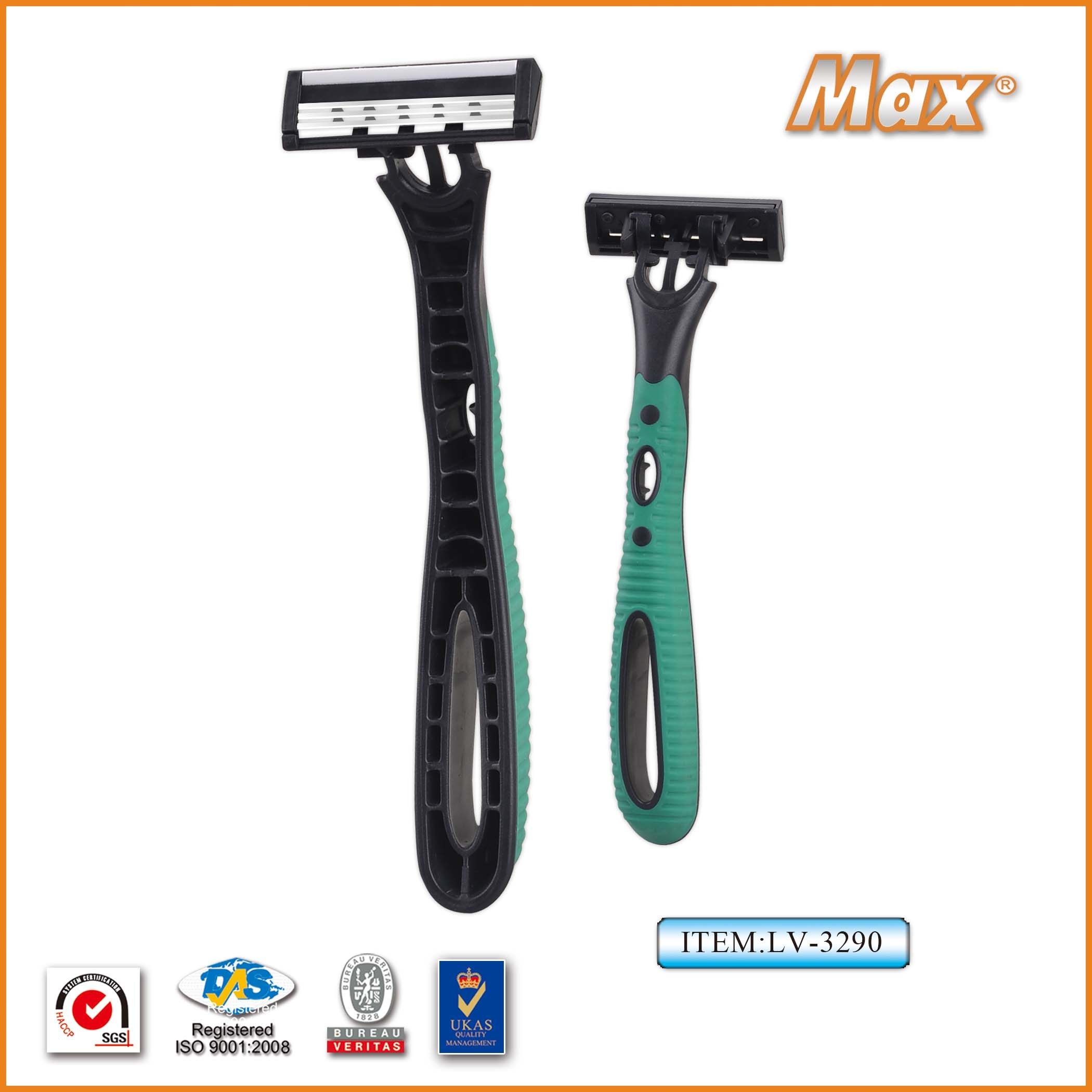 New Design Triple Blade Disposable Shaving Razor
