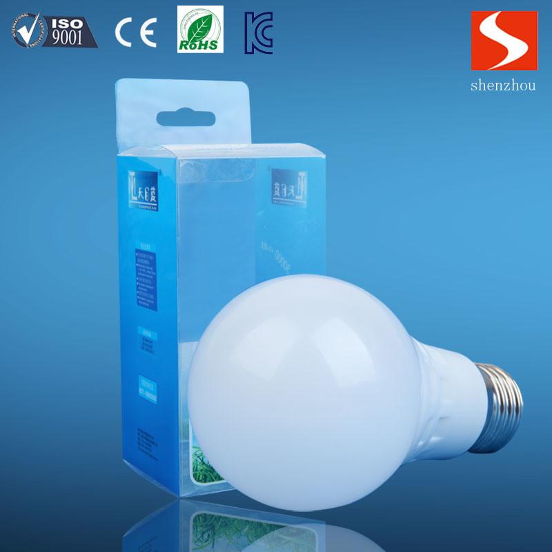 LED Light A60 9W E27 Alum+PBT Bulbs