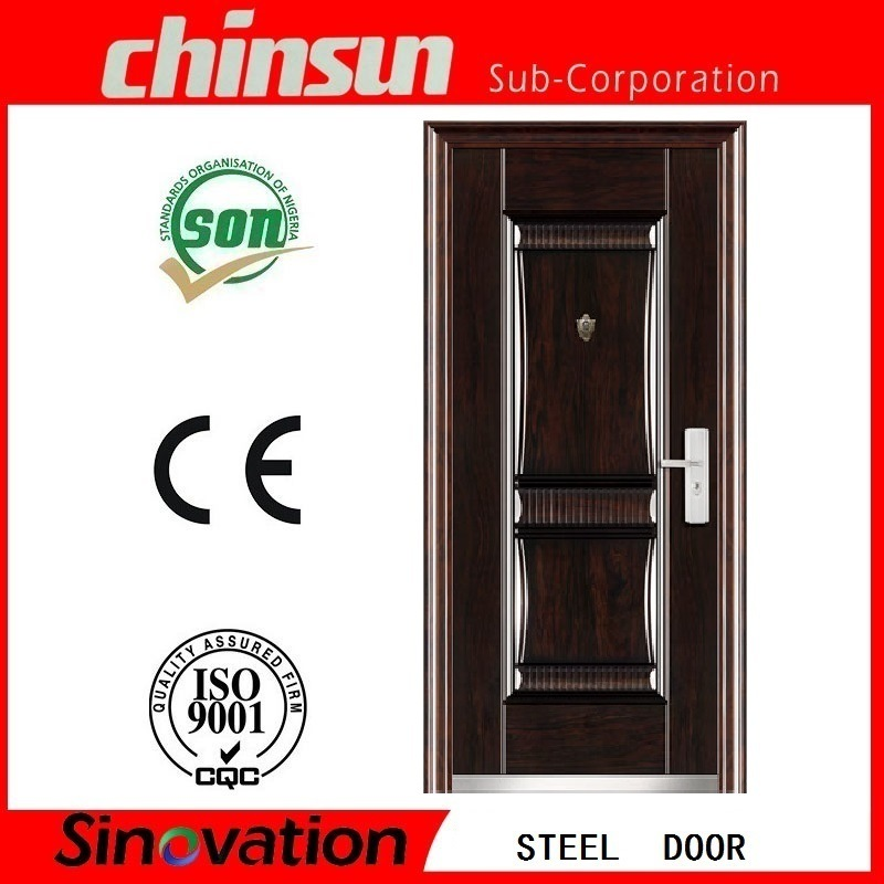 Low Price Steel Security Door with Ce