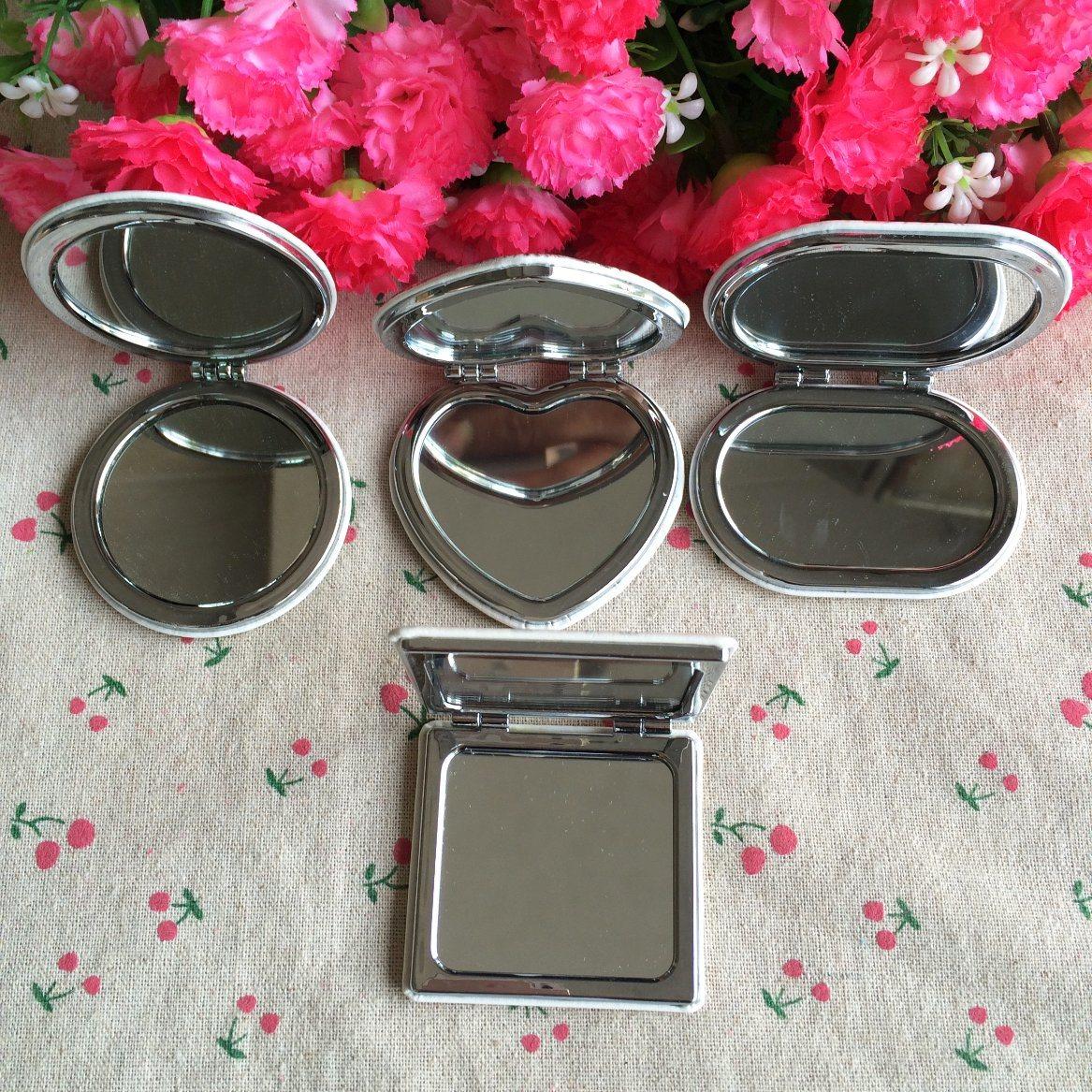 Double-Faced Portable Cute Cosmetic Mirror, Pocket Mirror