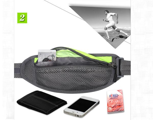 Running Waist Pack Belt Pouch Bag for Men (56)