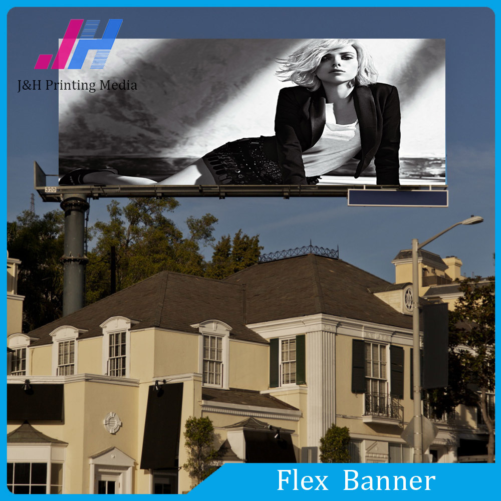 Glossy PVC Banner for Large Format Billboard