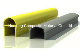 FRP Top Rail/Pultruded Profiles/Fiberglass GRP Sturctures