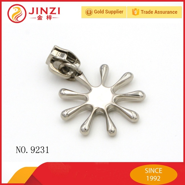 Custom Design Hardware Accessories Metal Zipper Puller