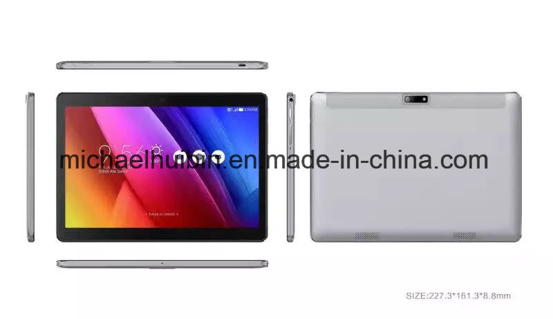 9.6inch Metal Casing Android 3G 4G Phone Tablet PC (MID9704D)