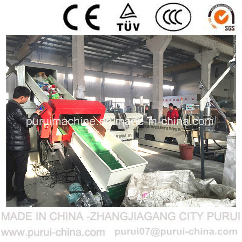 Two-Stage Die Face Cutting Plastic Pelletizing Machine