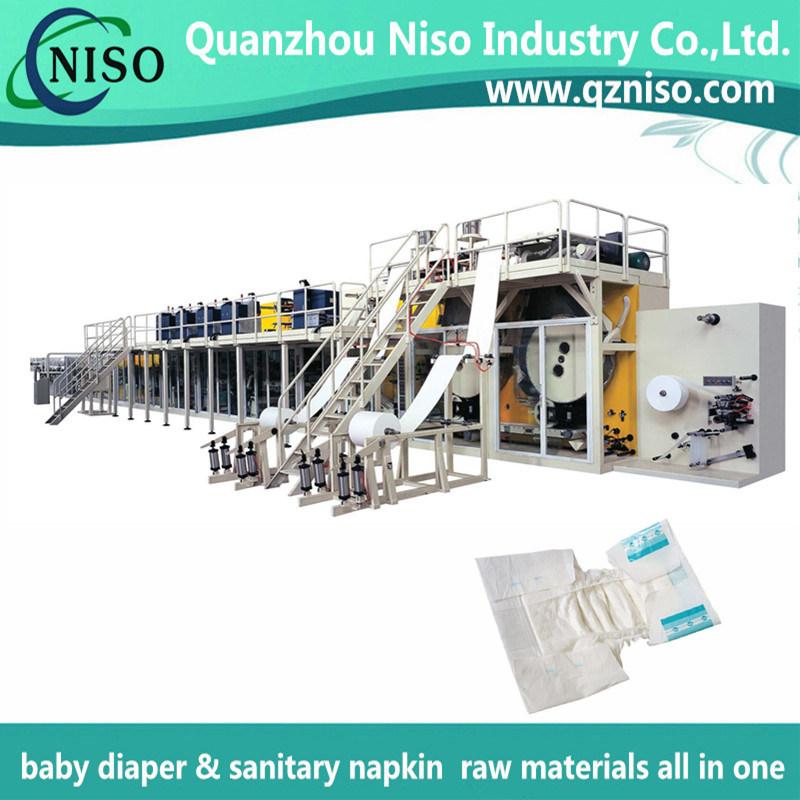 Chinese Adult Diaper Machine for Baby Diaper Adult Diaper Sanitary Napkin