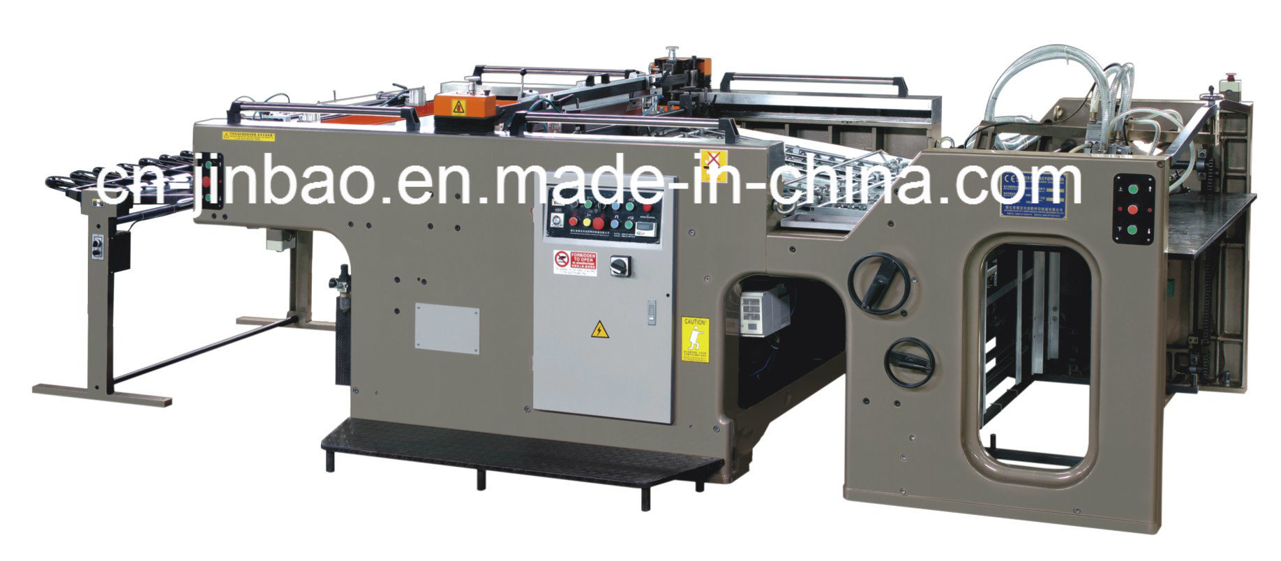Automatic Cylinder Screen Printing Machine 720X520mm (JB-720)