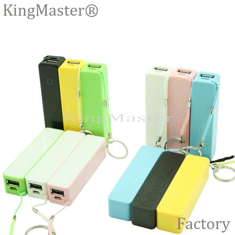Kingmaster 2200mAh Mini Power Bank Portable Battery Charger for Mobile