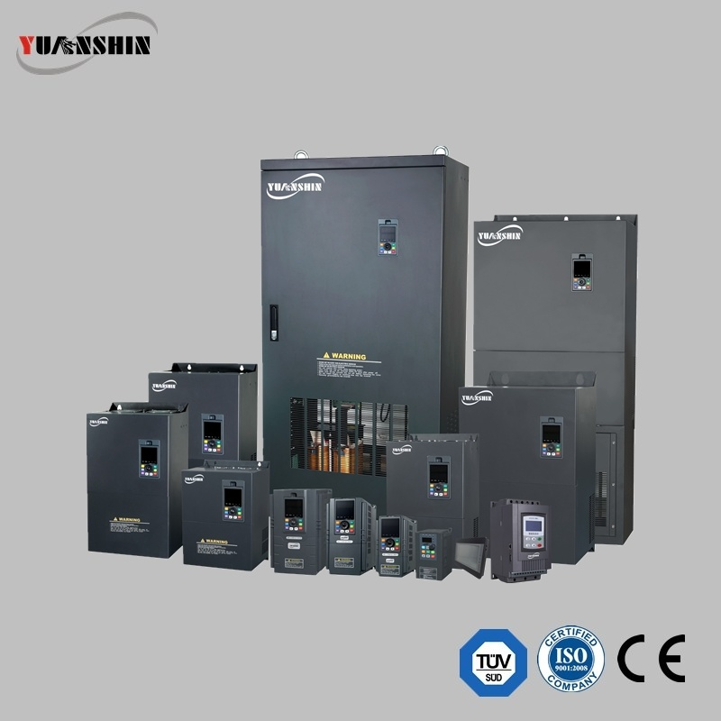 Yuanshin Yx3000 Series Ce/ISO Certified Variable Frequency Inverter/Converter 3 Phase 450kw 380V/415V VFD for Textiles