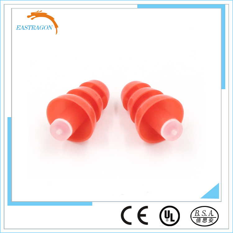 Comfortable Silicone Ear Plugs with Filter