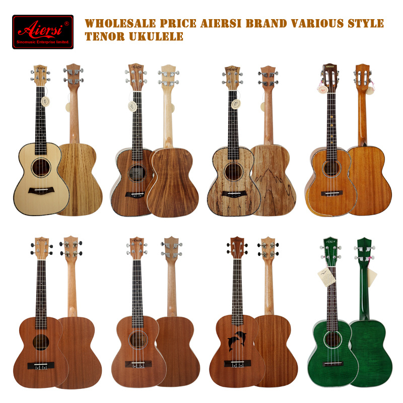 Wholesale Price Aiersi Brand OEM ODM 26 Inch Tenor Ukulele