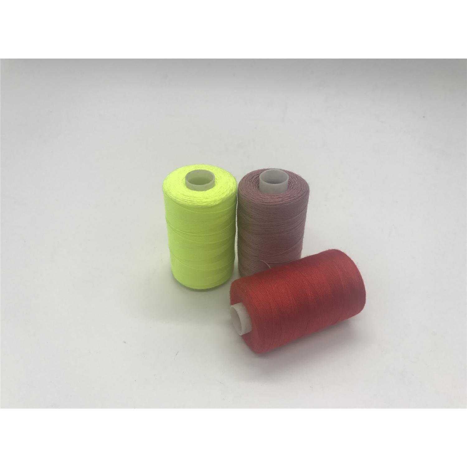 Shanfa 100% Polyester Sewing Thread 40s/2 1000yds