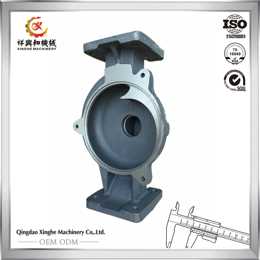 Cast Iron Water Pump Iron Cast Pump Casing Bearing Housing