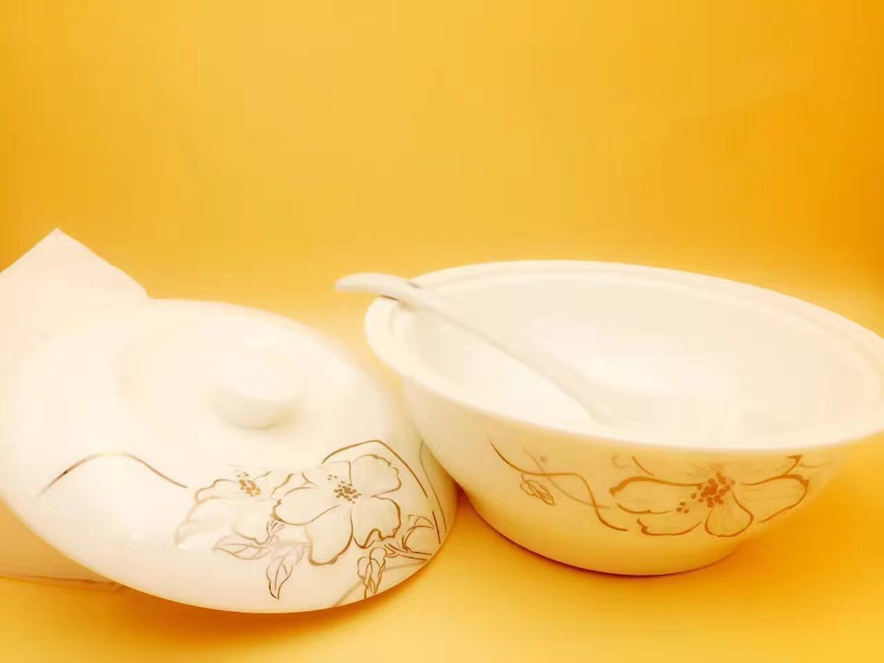 9 Inches of New Bone China Soup Bowl