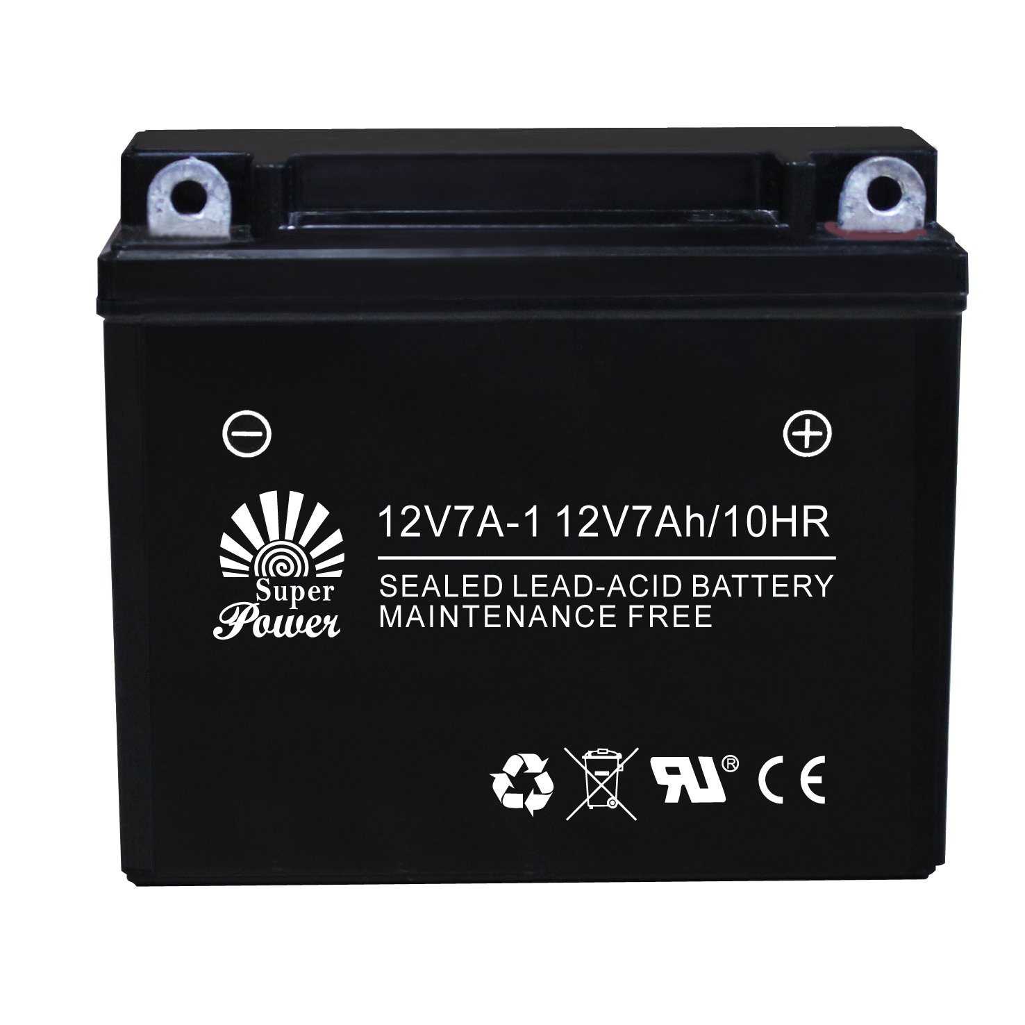 VRLA Motorcycle Battery 12V 7ah with CE UL Certificate Called 12V7A-1