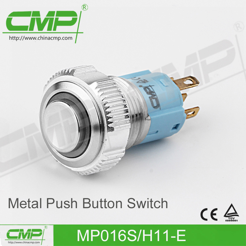 16mm Stainless Steel Push Button Switch