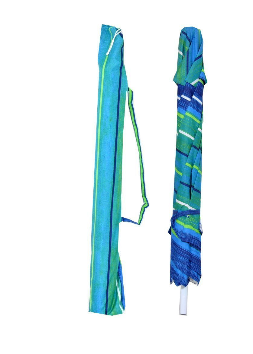 7 Foot Deluxe Beach / Patio Umbrella (UPF100 - Market Style)