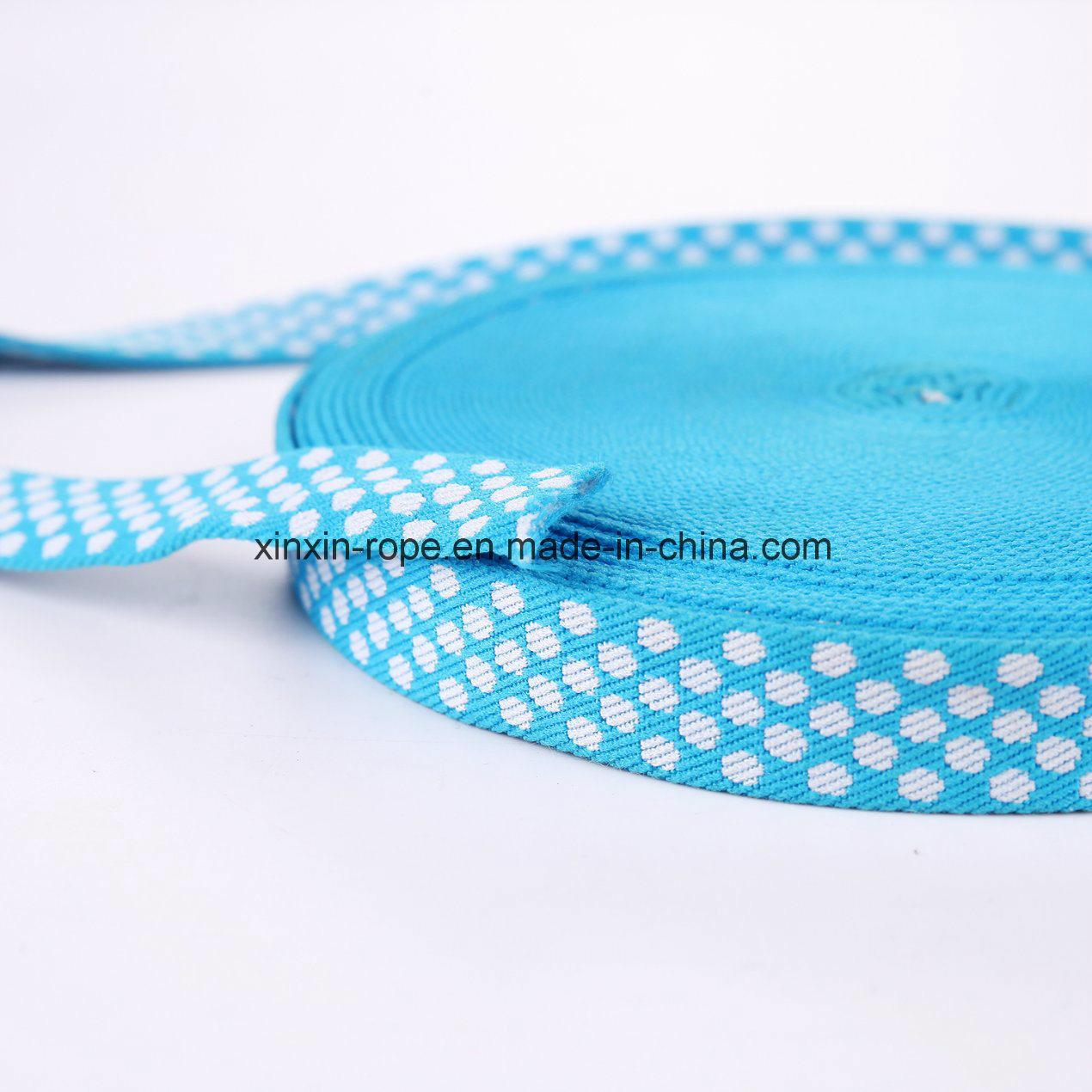 High Elastic Nylon Webbing Mashine Woven Jacquard for Garment