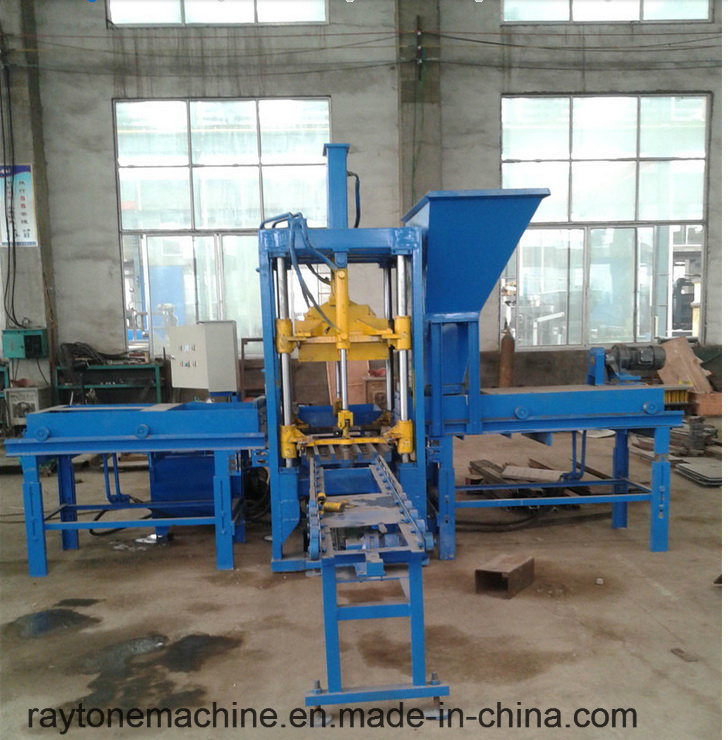 Qtf3-20 Automatic Concrete Color Paver Block Brick Making Machine