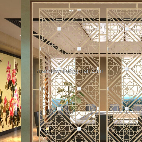Stainless Steel Product Laser Cut Room Divider
