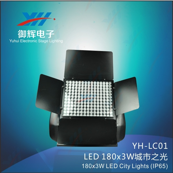 LED 180*3W Powr Outdoor Stage City Color Lights