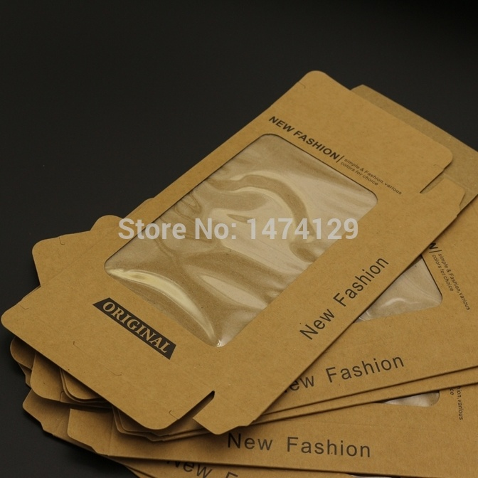 Craft Phone Outer Shell Packaging, Mobile Phone Case Packaging with Window