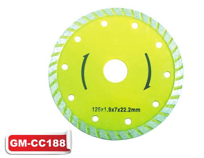 Diamond Turbo Saw Blade Cutting Disc (GM-CC188)
