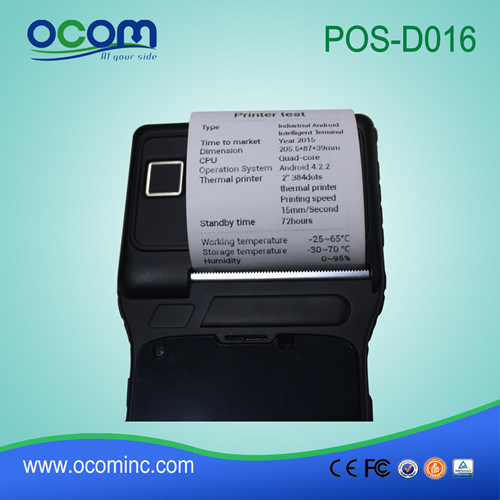 Portable NFC All in One POS /PC Terminal with Touch Monitor (POS-D016)