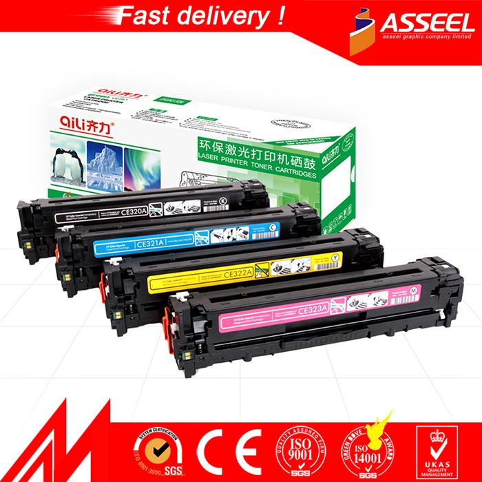 Premium Compatible Laser Color Toner Cartridge Ce320A-Ce323A 128A for HP