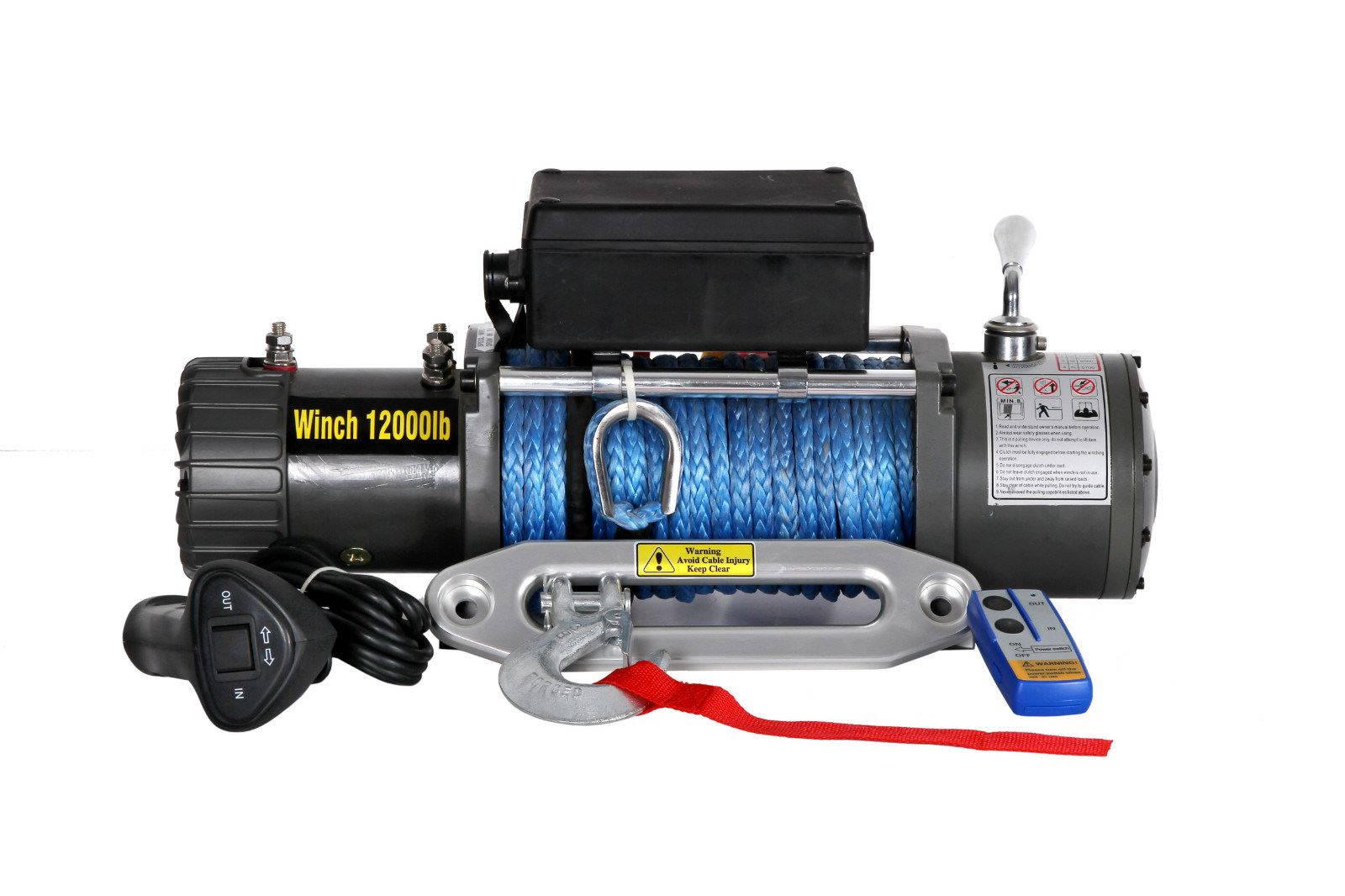 12000lb Recovery Truck Winch with CE Approved