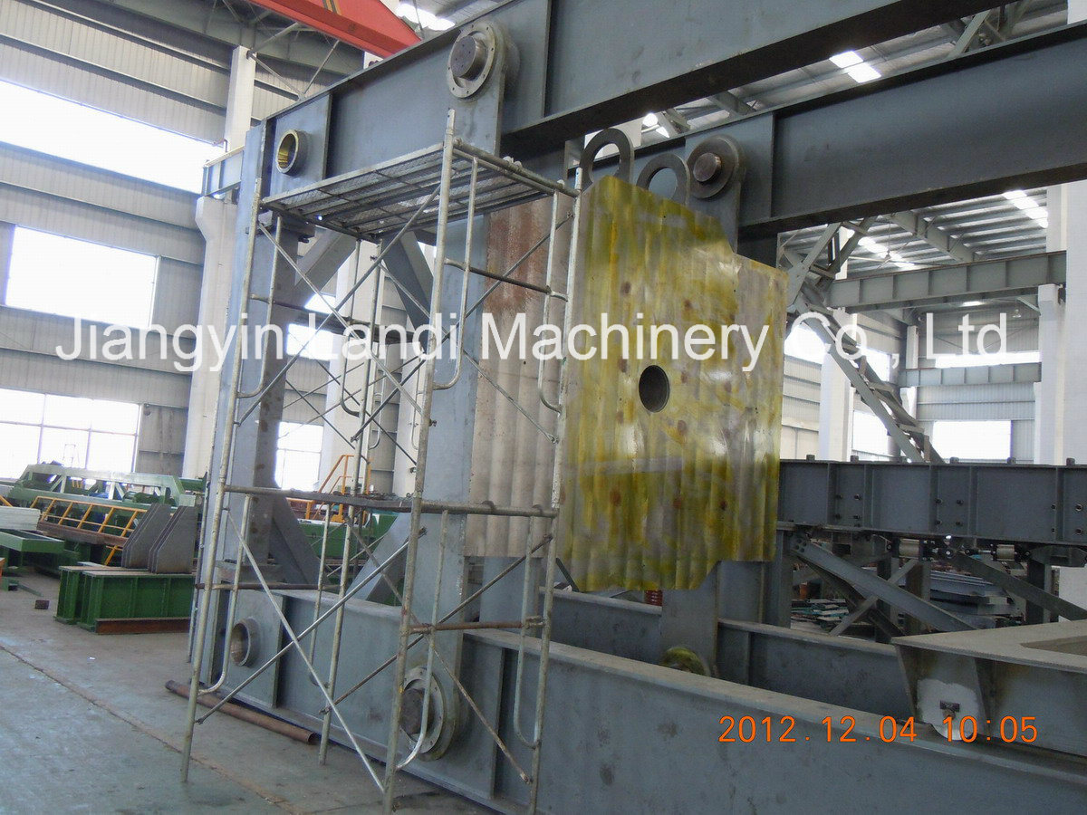 Hydrostatic Tester Fabrication and Assembly for Spiral Welded Pipe Mill