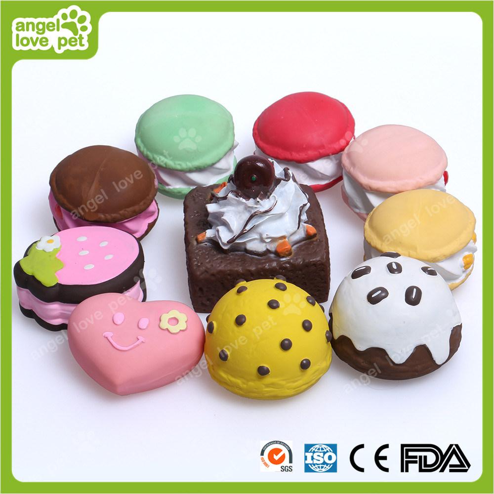 Vinyl Sweet Cake Pet Toy (HN-PT672)