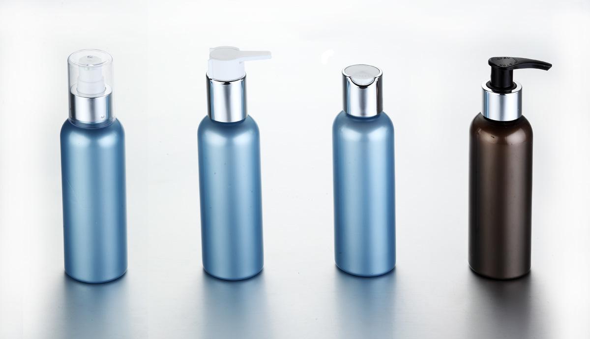 150ml Amber Pet Bottle with Aluminum Sprayer