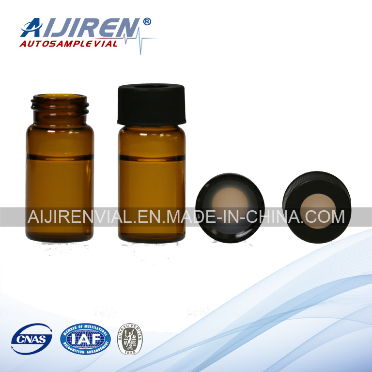 20ml Amber Glass Storage Vial EPA Vial VOA Vial