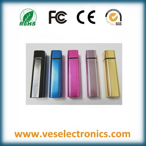 Multi-Colors Portable Power Mobile Phone Charger 2600mAh Battery Travel Charger