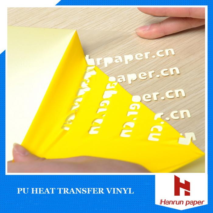22 Colors PU Premium Heat Transfer Vinyl for Garment/Textile/Sportswear