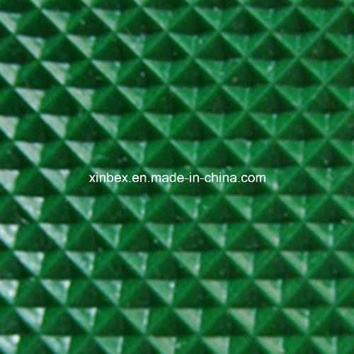 PVC Green High Friction Diamond Industry/Industrial Conveyor Belts